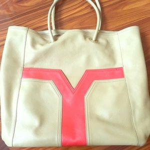 YSL shopping tote